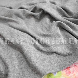 Трикотаж вискоза светло-серый меланж, Китай, 180см