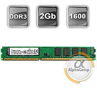 Модуль памяти DDR3 2Gb Kingston (KVR16N11/2) 1600 (AMD only)
