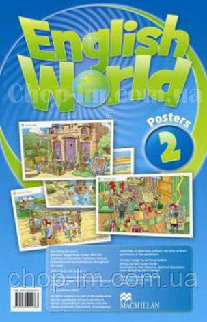English World 2 Poster's Pack (набор плакатов), фото 2