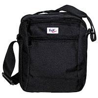 """Наплечная сумка Fox Outdoor """"Travel-II"""" чёрная 22x18x8см 30959A"""