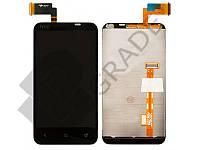 Дисплей для HTC T328t Desire VT + тачскрин, черный