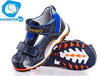 Детские кожаные сандалии TM Clibee 201-оранж,26-31
