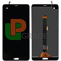 """Дисплей для HTC U Ultra 5.7"""" + тачскрин, черный, Brilliant Black"""