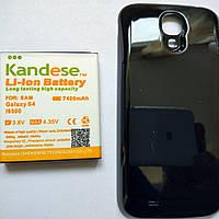 Усиленный аккумулятор Samsung Galaxy S4 Mini 6000mah с крышкой