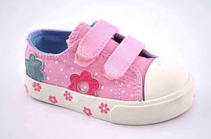 Яркие текстильные кеды для девочки Comfort-Baby 20,21 р