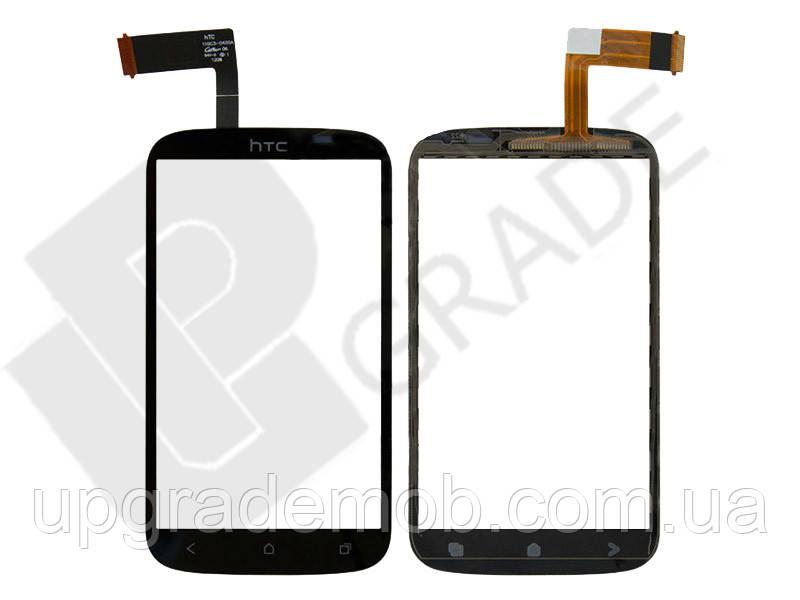 Тачскрин HTC T328e Desire X, черный