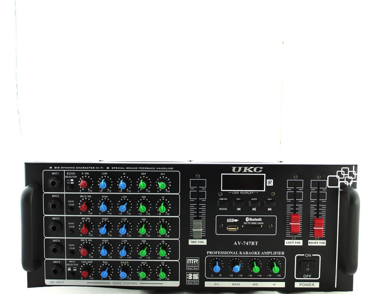 Усилитель AMP 747+BT (2) в уп.2шт.