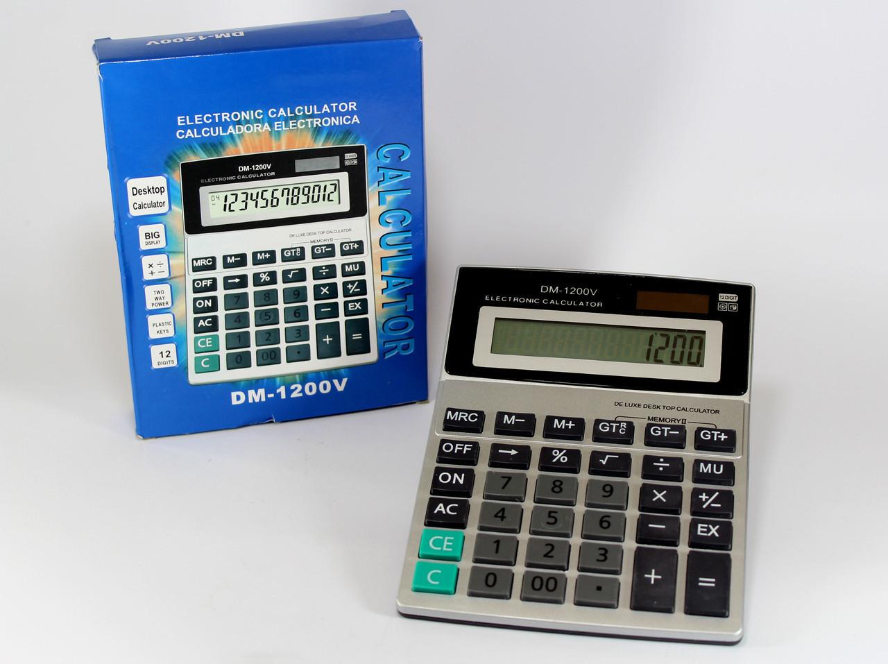 Калькулятор KK 1200 (90) в уп.30 шт.