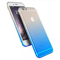 Силиконовый чехол - бампер  для  телефона Силикон Sunset iPhone 6 (5 расцветок )