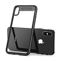 Силиконовый чехол - бампер  для  телефона iPhone 6/6S Накладка Baseus Auto Focus black (разные цвета)
