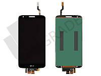 Дисплей для LG D800 G2/D801/D803/D808/E940/F320/LS980/VS980 + touchscreen, черный, оригинал (Китай), 34 pin