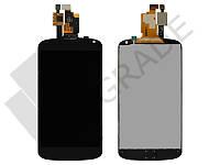 Дисплей для LG E960 Nexus 4 + тачскрин, черный, оригинал (Китай)