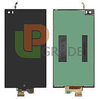 Дисплей для LG H910 V20/H915/H918/H990/F800/LS997/US996/VS995 + тачскрин, черный, оригинал (Китай)