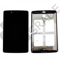 """Дисплей для LG V400 G Pad 7.0""""/V410 + touchscreen, черный, с передней панелью, оригинал (Китай)"""