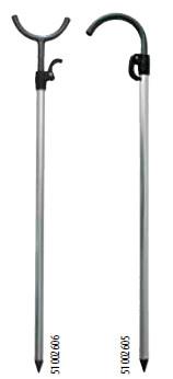 Стойка с держателем для  удилища  телескопическая Salmo 61-105 см 51002605