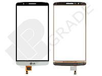 Тачскрин для LG D855 Optimus G3/D858/D859, белый, оригинал (Китай)