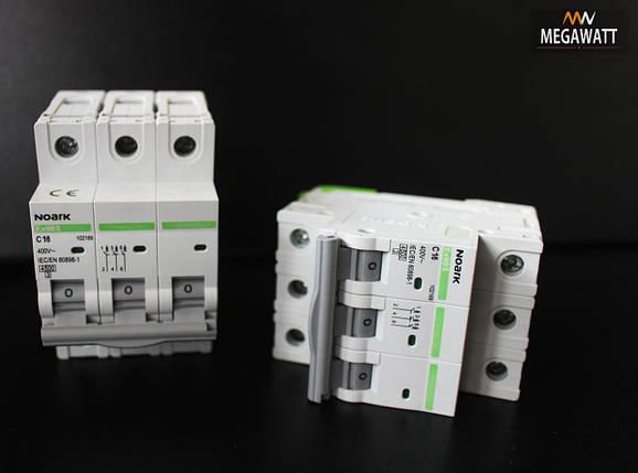 Автомат 3/20A Ex9BS 3P C20 4.5 kA NOARK В наявності, фото 2
