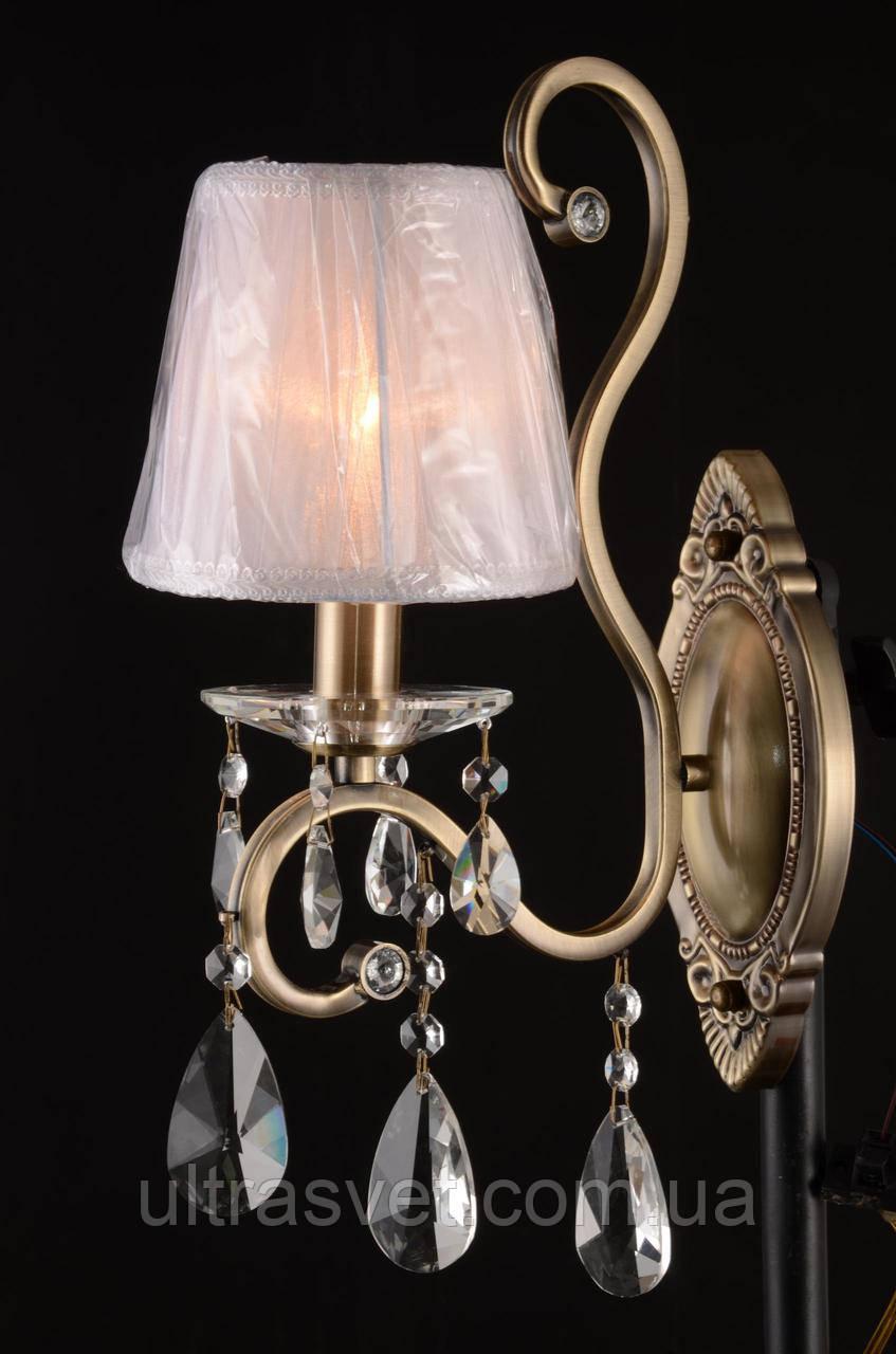 Бра классическое 25014 цвет карамель -  золото