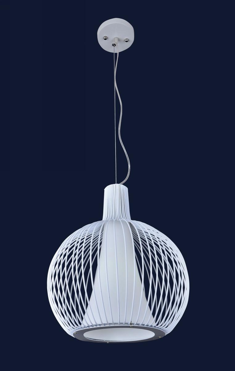 Подвесной светильник белого цвета 7076380-1 WH