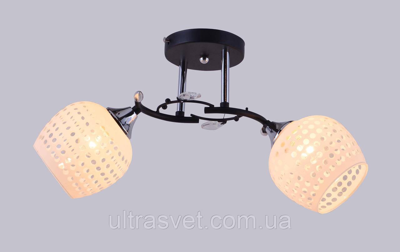 Люстра потолочная 2-ламповая