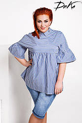 Блуза с завышенной талией