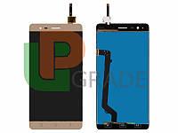 Дисплей  Lenovo A7020 Vibe K5 Note A7020a40/A7020a48 Vibe K5 Note Pro с тачскрином (модуль), золотистый