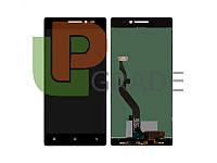 Дисплей для Lenovo X2 Vibe + тачскрин, черный