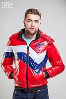 Мужская зимняя красная куртка TEAM USK