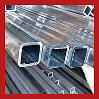 Квадратный алюминиевый профиль 20х20х2, анодированный, L=6000 мм