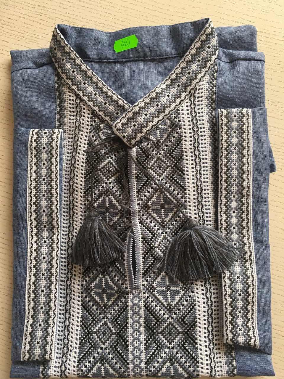 Вишита сорочка чоловіча на короткий рукав 54 розмір - Скарбниця Карпат-  інтернет магазин виробів ручної 5e313c2378261