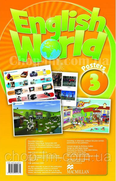 English World 3 Poster's Pack (набор плакатов к курсу)