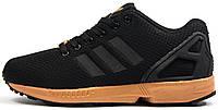 Женские кроссовки Adidas ZX Flux Womens Black (Адидас Флюкс) черные