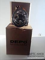 Depo Противотуманная фара правая HB4 на Volkswagen Touareg (2010 - по наст. время) 7P