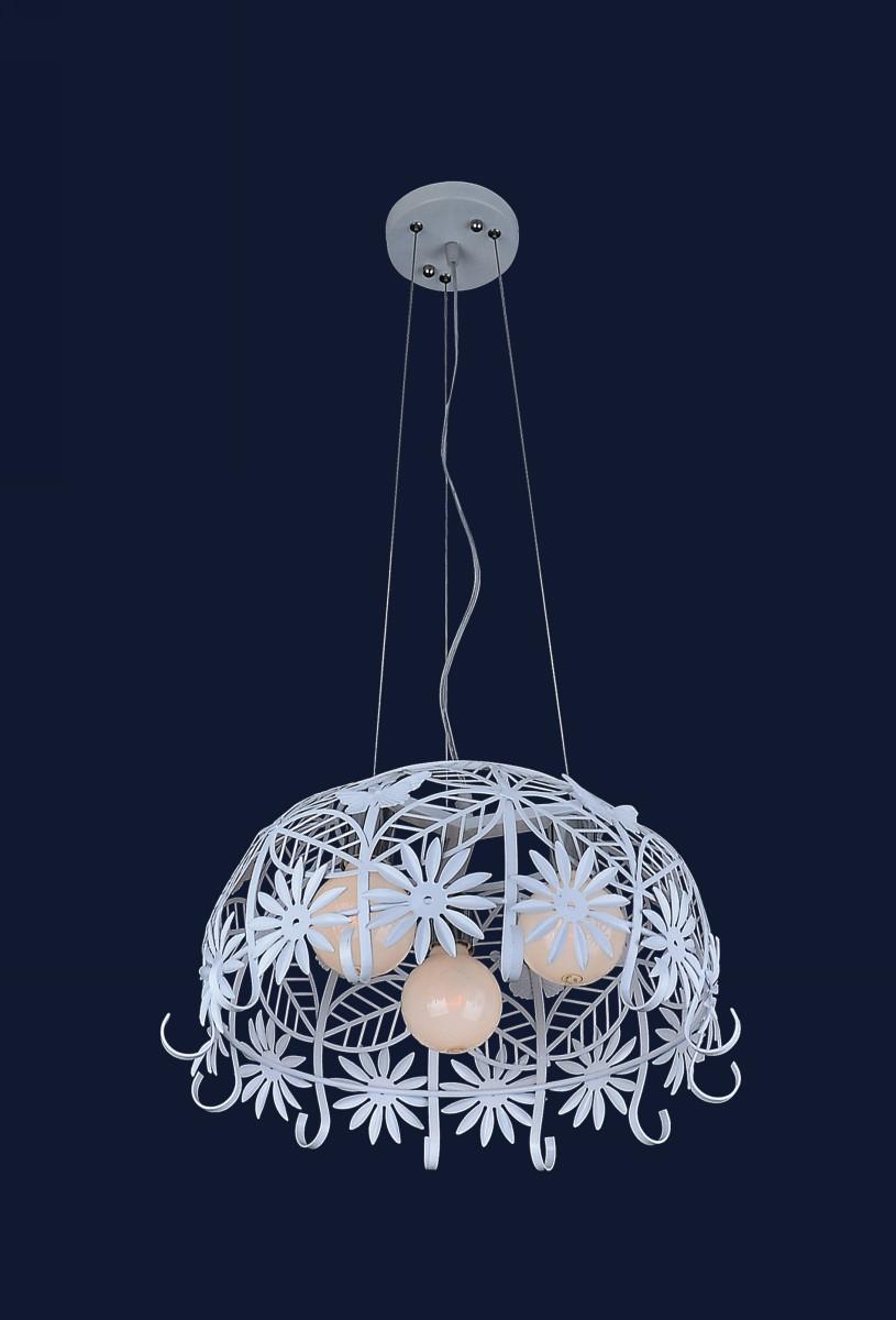 Подвесной светильник на три лампы 7076390-3 БЕЛЫЙ
