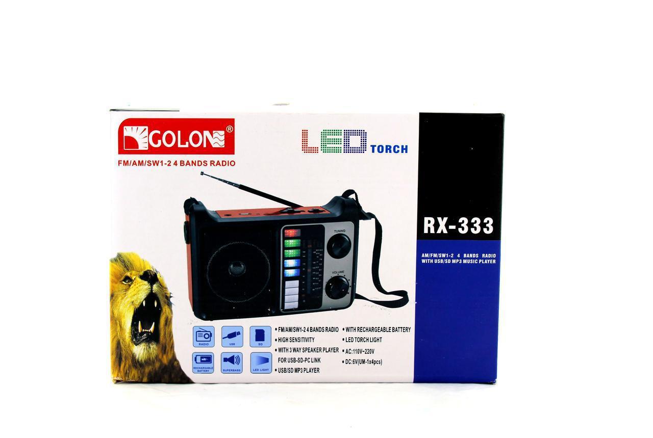 Радио RX 333+BT (16) в уп. 16 шт.