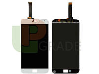 "Дисплей (экран)  Meizu MX4 Pro (M462) 5.5"" + тачскрин (сенсор), белый"