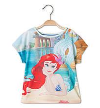 Дитяча футболка з Русалонькою на дівчинку 2-3 роки C&A Німеччина Розмір 98