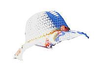 Шляпа детская с кисточками