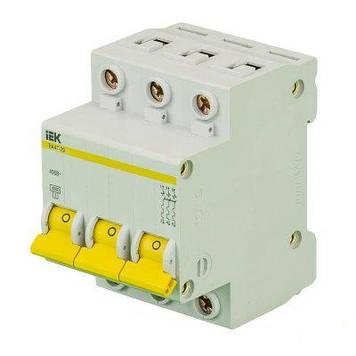 Автоматический выключатель IEK ВА 47-29 3п 63А 4.5кА хар С
