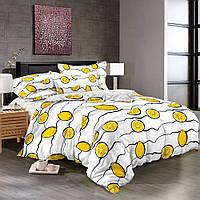 Лимончелло, постельное белье из сатина (100% хлопок)