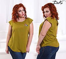Блуза БАТАЛ накат 04/р1393, фото 3