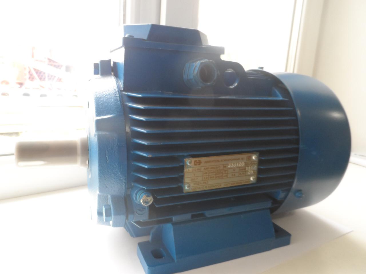 Электродвигатель АИР 100 L6 ІМ1081  2,2кВт (1000 об/мин) (БЕЛОРУСЬ)