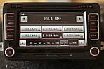 Автомагнитола оригинал Volkswagen T5, Passat, Jetta, Golf RNS 510 LED б/у 1T0035680AX, фото 2