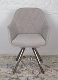 Кресло поворотное ALMERIA текстиль бежевый Nicolas, фото 6