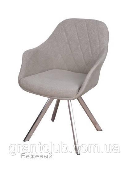 Кресло поворотное ALMERIA текстиль бежевый Nicolas