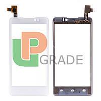 Тачскрин  Prestigio PAP4505 DUO MultiPhone/Coolpad 7290, белый