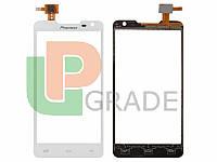 Тачскрин для Prestigio PAP5044 DUO MultiPhone/Pioneer S90W, белый, #CT4F044FPC-A1-E