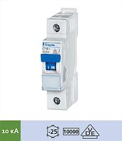 Автоматический выключатель Doepke DLS 6i C50-1 (тип C, 1пол., 50 А, 10 кА), dp09916208
