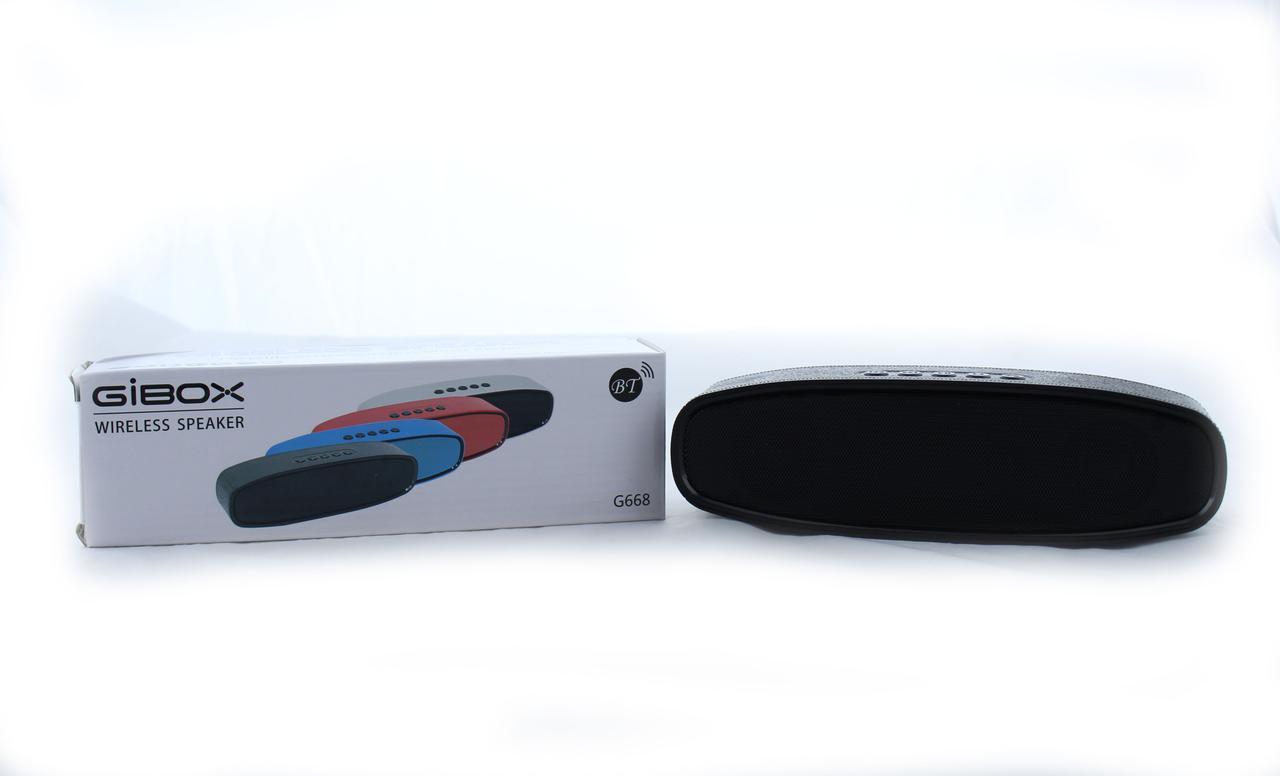 Портативная Стерео MP3 Bluetooth Колонка акустика SPS G668 USB FM