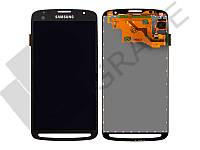 Дисплей (экран)  Samsung i9295 Galaxy S4 Active/i537 + тачскрин (сенсор), серый, оригинал